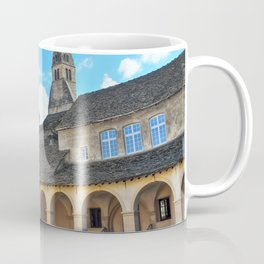 French Augustinian Convent building of Cremieu in Isere Rhone-Alpes Coffee Mug