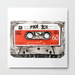 mixtape 80s Metal Print