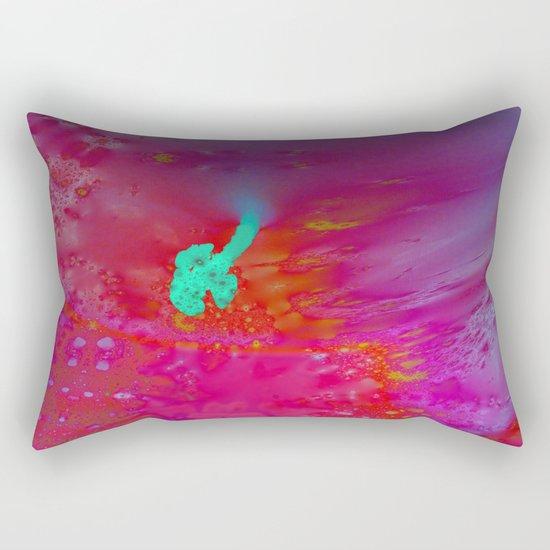 looking onto the life Rectangular Pillow
