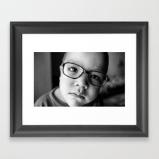 KID Framed Art Print