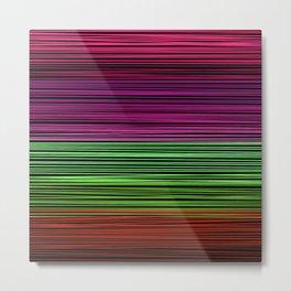 Rainbow thread  3 Metal Print