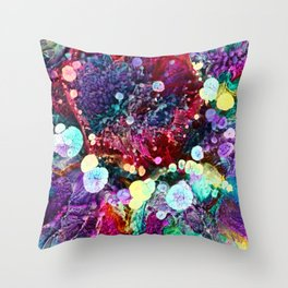 Microcosmos Macro 2 Throw Pillow