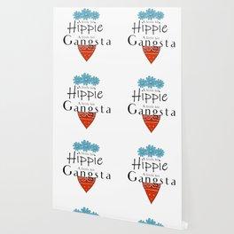 Hippie Gangsta Funny Design A Little Bit Hippie Gangsta Wallpaper