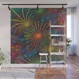 Fireworks Wall Mural