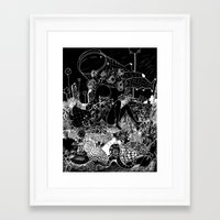 alt j Framed Art Prints featuring 1945 ALT ALT by deathbylolis
