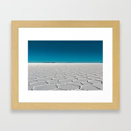 Salt Flats of Salar de Uyuni, Bolivia #2 Framed Art Print