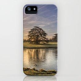 Leeds Castle Upper Lake iPhone Case
