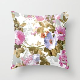 The perfect flowers for me Throw Pillow