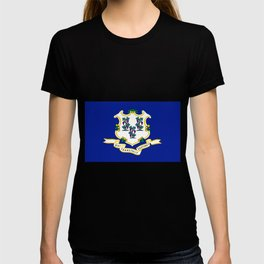 State Flag of Connecticut T-shirt