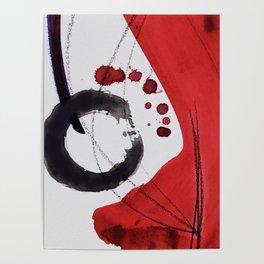 Enso Of Zen 102A by Kathy Morton Stanion Poster