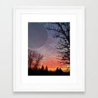 neverland Framed Art Prints featuring Neverland by Olivia Joy St.Claire - Modern Nature / T