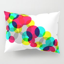 Neon Bubbles Pillow Sham