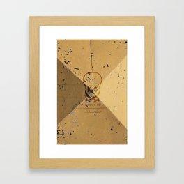 OGPS STEEL Framed Art Print