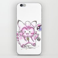 fairy tail iPhone & iPod Skins featuring Not Just Another Fairy Tail by Randy C