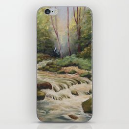In the shade of the undergrowth iPhone Skin