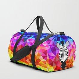 Zebra Dazzle Duffle Bag