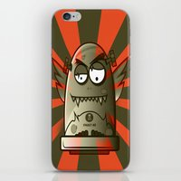 the fault iPhone & iPod Skins featuring Fault 45 01 (its not his fault) by Face Leakage