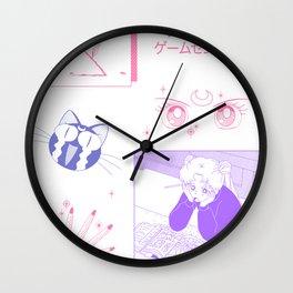 sailormoon fanart Wall Clock