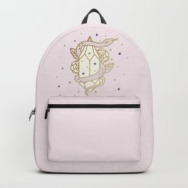 MAGICAL SNAKE AND CRYSTAL - mystic art Backpack