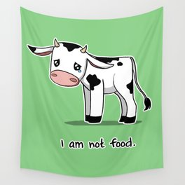I Am Not Food Wall Tapestry