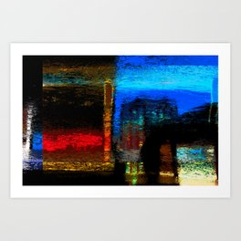 Abstract Certainty Art Print