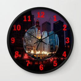 Chicago is MY kind of Town. . .  Wall Clock