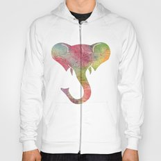 Rainbow Elephant Hoody