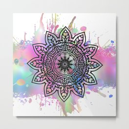 Astra Psychedelica (pink) Metal Print