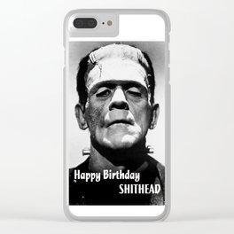 Frankenstein 1933, Horror Classic Movie Photo Clear iPhone Case