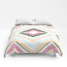 Mod stripes in Sorbet Comforters