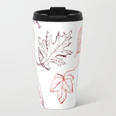 Leaves (reds) Travel Mug