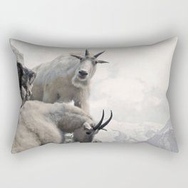 Hi, we are the mountain goats Rectangular Pillow