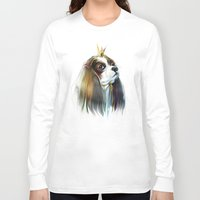 queen Long Sleeve T-shirts featuring queen by tatiana-teni
