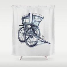 rickshaw Shower Curtain