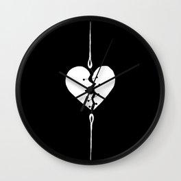 Mending a Broken Heart 2 Wall Clock