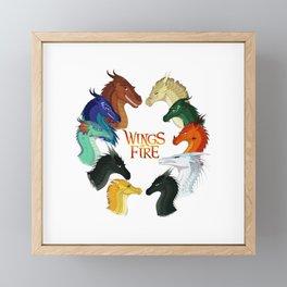 Wings of Fire Framed Mini Art Print