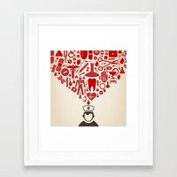 doctor Framed Art Prints featuring Doctor by aleksander1