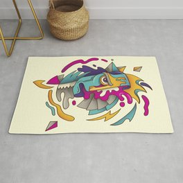 Abstarct Monsta Rug