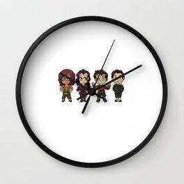 Chibi Korra Krew (Book 4) Wall Clock