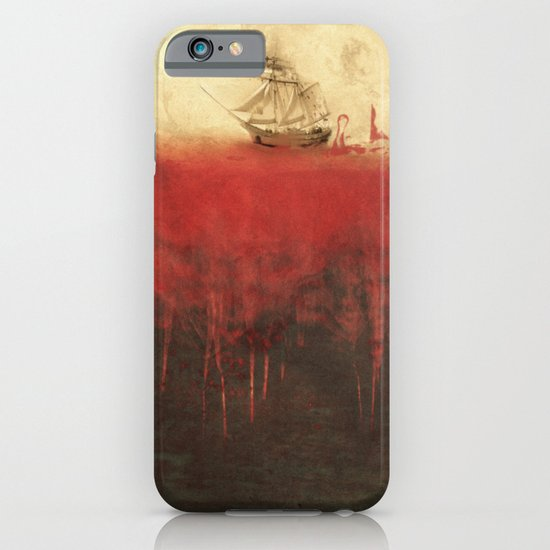 Sailing in dreams iPhone & iPod Case