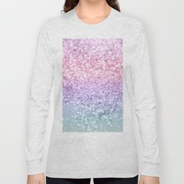 Unicorn Girls Glitter #1 #shiny #pastel #decor #art #society6 Long Sleeve T-shirt