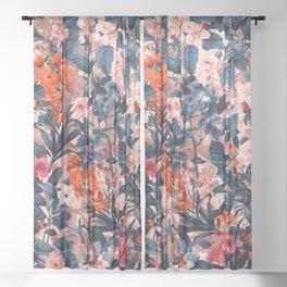 Summer Botanical Garden XI Sheer Curtain