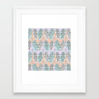 lungs Framed Art Prints featuring Lungs by Charlotte Goodman
