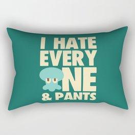 Squidward Quotes Rectangular Pillow