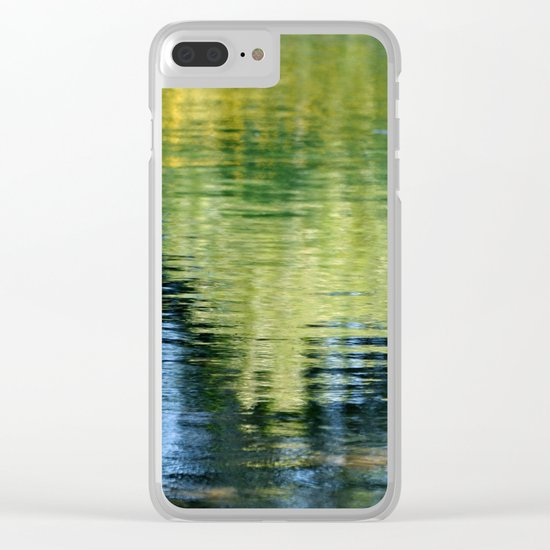 PEACEFUL REFLECTION Clear iPhone Case
