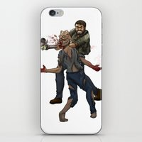 the last of us iPhone & iPod Skins featuring The Last of Us by Luis Lara