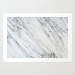 Carrara Italian Marble Kunstdrucke