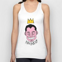 moriarty Tank Tops featuring Moriarty by Hypermeganeko