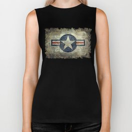 Air force Roundel v2 Biker Tank