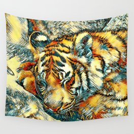 AnimalArt_Tiger_20170606_by_JAMColorsSpecial Wall Tapestry